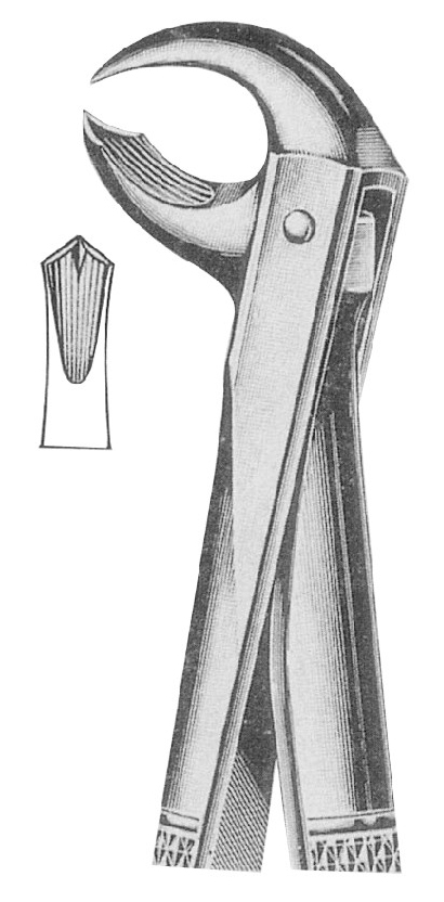 Extracting Forceps English Pattern